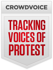 Crowdvoice - Tracking Voices of Protest